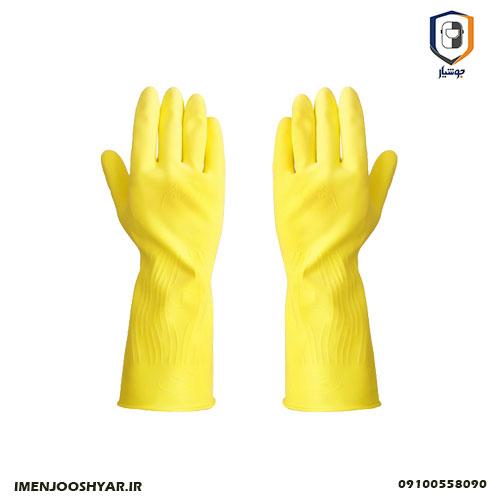 دستکش های لاستیکی