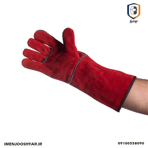 دستکش هوبارت قرمز