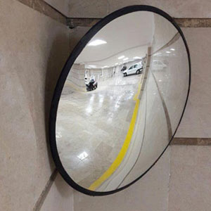 آینه محدب ترافیکی پلی کربنات