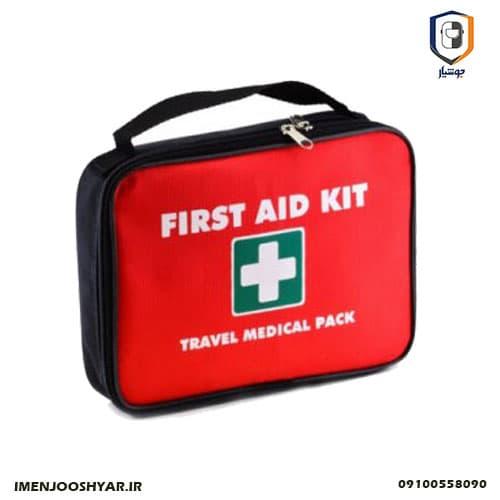 جعبه کمک های اولیه برزنتی همراه