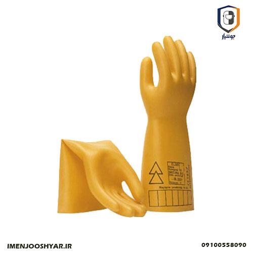 دستکش های عایق برق فشار قوی
