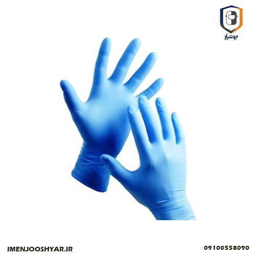 دستکش یکبارمصرف نیتریل