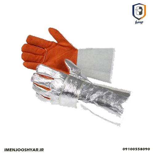 دستکش آلومینیومی نسوز Honeywell