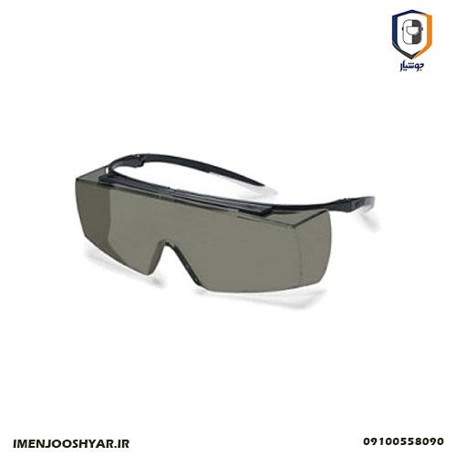 عینک ایمنی uvex مدل SUPER F OTG 9169